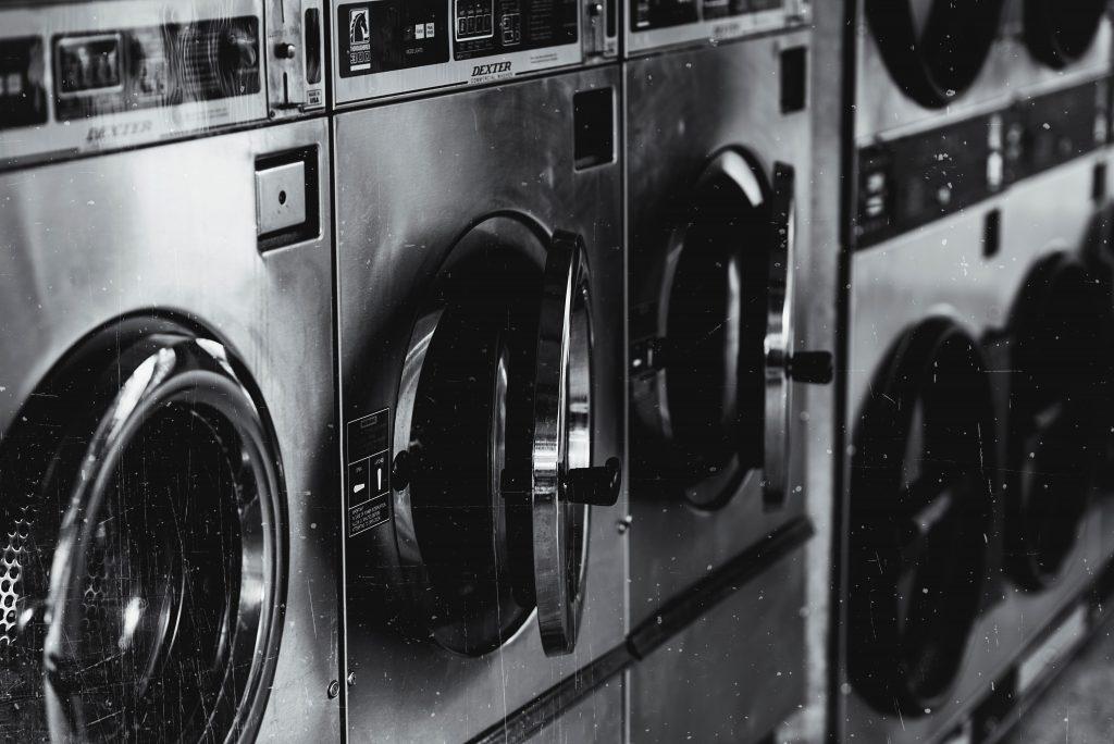 grayscale-photo-of-washing-machine-22540651