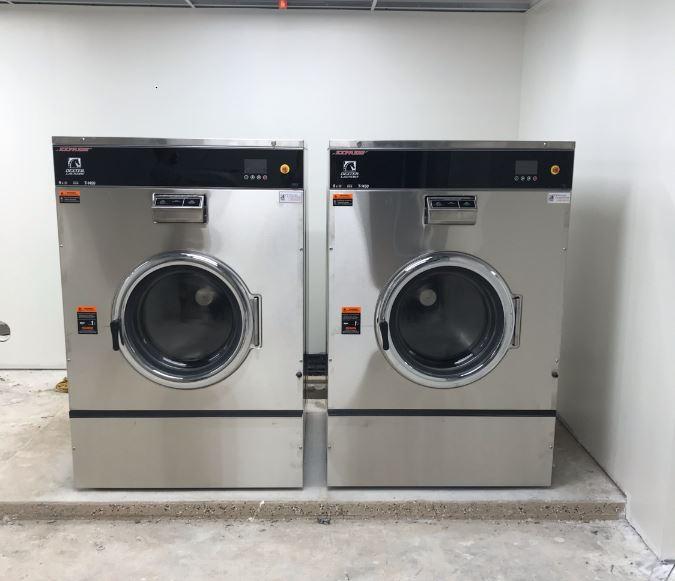 hospitality laundry install
