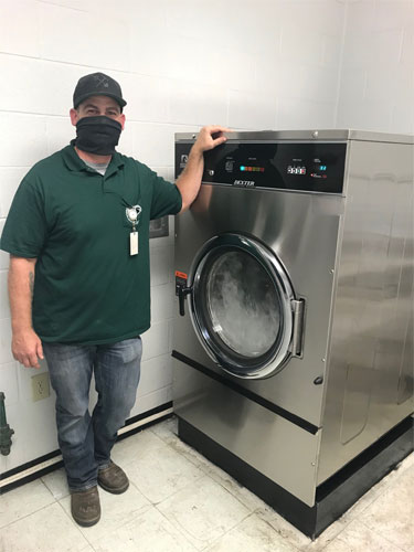 vended, mobile pay and coin operated laundry equipment for rv parks | best dexter commercial laundry equipment