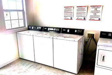 vended, mobile pay and coin operated laundry equipment for rv parks