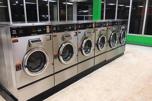 coin-operated laundry equipment